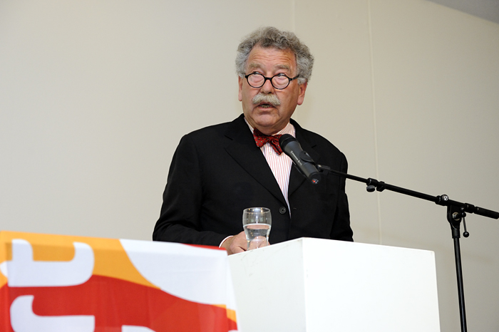 Opening Kunsthal KAdE, Kees Spaan, voorzitter bestuur Amersfoort in C