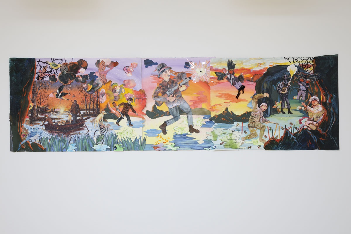 Martha Colburn,  Triumph of the Wild, part I, 2008